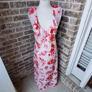 Oscar de la Renta Pink Label Sexy Flowy Night Gown